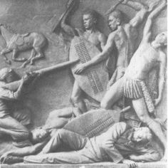This Day in Southern African History: 11 April, Zulu warriors ambush Piet Uys and his men at Italeni My Herritage, Zulu Warrior, The Old Days, African History, Southeast Asia, Sculpture Art, Childhood Memories, Trek, South Africa
