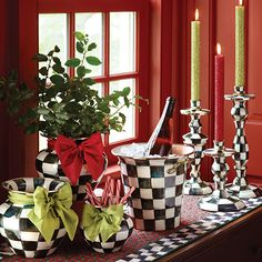 MacKenzie-Childs - Photo Gallery Holiday table