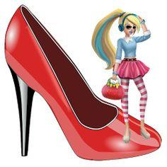 Retail time! Teen Cindy has been shoe shopping since dawn!