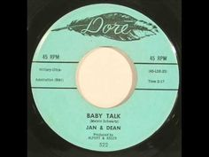 Today 9-17 in 1959 our radios were playing a hit song by a new duo Jan & Dean - their first hit out the door was 'Baby'