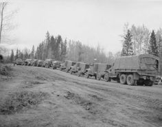 Western Command Convoy of Old Military Vehicles Travelling the Alaska Highway via EnergeticCity.ca