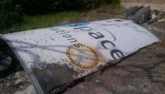 A Piece Of An Ariane 5 Rocket Washed Ashore - Cool Space Debris