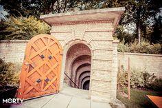Veuve Clicquot - Entrance to the Crayères - Reims France