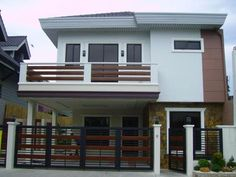 design 2 storey house with balcony images 2 story modern house designs 1 storey house