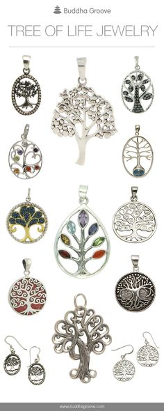 Meaningful Tree of Life Jewelry Designs