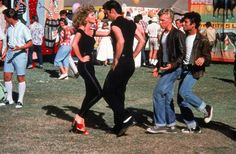 "Grease, 1978 ... ""It doesn't matter if you win or lose, it's what you do with your dancin' shoes."""