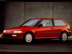 Honda Civic 3-door Hatchback Sedan - 1990