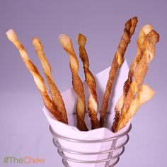 Cinnamon Twists by Carla Hall! #TheChew