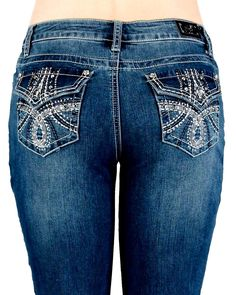d0f7249174f Items in cocodot4Jeans store on eBay! Plus Size CowgirlChic Summer Style Jeans ...