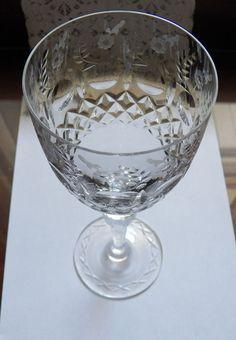 Rogaska GALLIA Water Excellent 1st Buyer Take up to 12 #Rogaska #PolishedFloralDesign