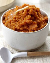 Sweet Potatoes with Apple Butter  - Healthy Thanksgiving Side Dishes from Food & Wine