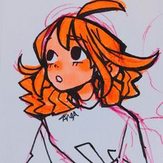 """Angel's Secret Art Service on Instagram: """"MORE OF GOLDIE, HER HAIR WAS HARD TO DESIGN LMAO, I MIGHT CHANGE IT AGAIN P.S. SORRY FOR LE MINI MINI MINI MINI MINI ART SPAM #drawing…"""""""