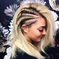 Summer Hairstyles, Pretty Hairstyles, Straight Hairstyles, Braided Hairstyles, Hair Heaven, Fluffy Hair, Hair Game, Bad Hair, Braid Styles