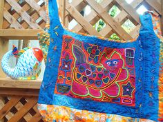 Re-Cycled Jeans Tote by Kath G.