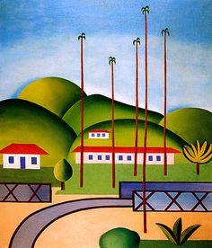 86f2e9afbd Cityscape - Tarsila do Amaral Pintura Tarsila Do Amaral