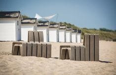 Sustainable Outdoor Seating Made from Yogurt Cups by Studio Segers - Design Milk
