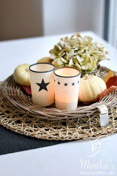 Tischdeko mit Tine K Home Kerzenhalter; #TineKHome, #Teelichter, #Tischdekoration, #Deco, www.martha-s.de
