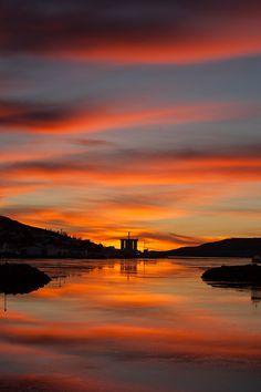 Morning in Faskrudsfjordur (Iceland) by *Jonina*