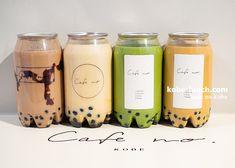 Tea Packaging, Food Packaging Design, Beverage Packaging, Fun Drinks, Yummy Drinks, Dessert Drinks, Aesthetic Coffee, Aesthetic Food, Korean Drinks