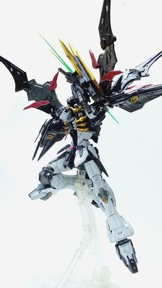 Painted Build: DM 1/100 Gundam Deathscythe Hell TV ver. - Gundam Kits Collection News and Reviews