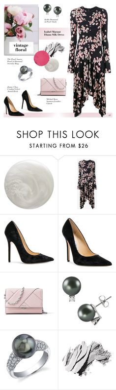 """""""Untitled #1343"""" by louise-stuart ❤ liked on Polyvore featuring Smith & Cult, Isabel Marant, Jimmy Choo, Michael Kors, Bobbi Brown Cosmetics, Marc Jacobs, vintage and vintageflorals"""