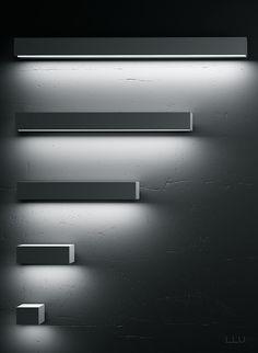 Francesc Rife for Uno Lighting | FLAT 10/20 wall lights