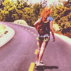 I haven't been longboarding in forever!