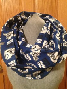 Indianapolis Colts Infinity scarf on Etsy,