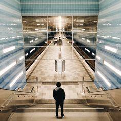 Ubahn Station Überseequartier HafenCity Hamburg  _____________________________ Bildgestalter http://www.bildgestalter.net