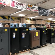 We have a large selection of safes to help protect your valuables in case of a fire at Bill's Ace Truckbox!