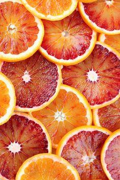 Beautiful background made of blood orange slices | Ingrid HS.