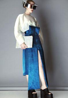 orientalism futuristic look Minimal Fashion, High Fashion, Fashion Show, Space Fashion, Fashion Design, Conceptual Fashion, Designer Collection, Editorial Fashion, Runway Fashion