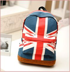 England flag bag