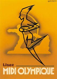 Lisez Midi Olympique - 1947