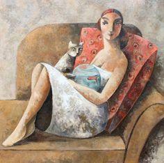Современный испанский художник. Didier Lourenco
