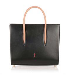 Paloma medium black leather bag from Savannahs