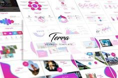 Terra Keynote Template- Premade color variation color ) Get it now!, an great Keynote template for multipurpose presentation business or personal needs. Presentation Design Template, Powerpoint Presentation Templates, Keynote Template, Design Templates, Social Media Logos, Infographic, Custom Design, Presents, Creative