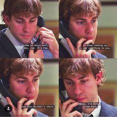 Caixa Postal da Pam: Oi é a Pam, eu preciso te dizer uma coisa, e o Michael esta aqui, de qualquer forma , eu to com saudade... volta logo ❤️