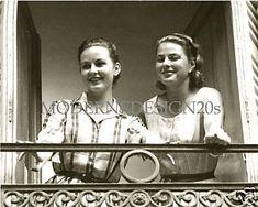 Pia Lindstrom and (mom) Ingrid Bergman