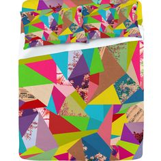 Bianca Green Colorful Thoughts Sheet Set