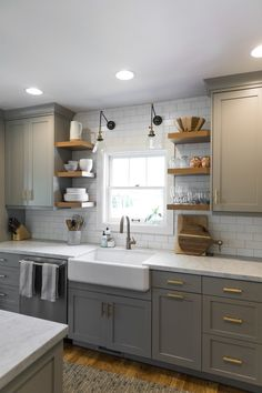 Source by nataszenka Related posts: 40 pretty farmhouse kitchen makeover design ideas on a budget 25 Best Farmhouse Kitchen Sink Design Ideas And Decor 45 suprising small kitchen design ideas and decor 5 50 Awesome Farmhouse Kitchen Decor Design-Ideen Diy Kitchen Remodel, Home Decor Kitchen, Kitchen Interior, Home Kitchens, Small Cottage Kitchen, Decorating Kitchen, Small House Kitchen Ideas, Small Kitchens, Kitchen Modern