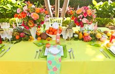 Fun and Colorful Lilly Pulitzer Wedding Ideas via Every Last Detail: http://theeverylastdetail.com/fun-colorful-lilly-pulitzer-wedding-ideas/