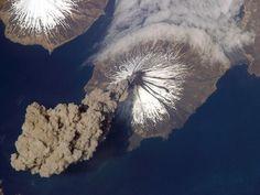 Alaska...cleveland volcano ash cloud