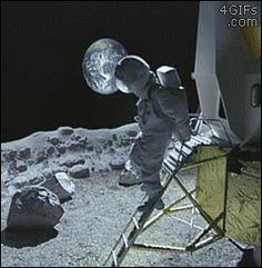 astronaut animated GIF