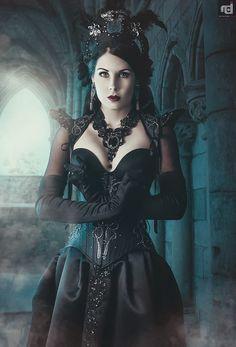 Model & Styling: Mademoiselle Karma Photographer: Reflection Design Corset: Videnoir Welcome to Gothic and Amazing | www.gothicandamazing.com