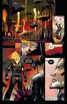 """""""I'm The King Around Here."""" Ghost Rider Johnny Blaze, Avengers Earth's Mightiest Heroes, A A Ron, Mephisto, Guardians Of The Galaxy, Popular Memes, Marvel Comics, Pumps, Instagram Posts"""