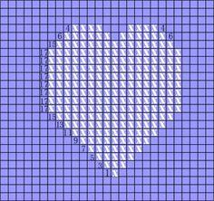 hEART square Heart, Pattern, Patterns, Model, Hearts, Swatch