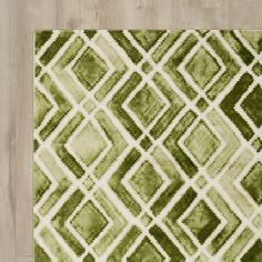 Found it at Wayfair - Forest Green Area Rug