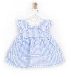 Baby Girl Frocks, Frocks For Girls, Kids Frocks, Baby Summer Dresses, Toddler Girl Dresses, Cute Baby Clothes, Girl Doll Clothes, Baby Girl Dress Design, Baby Frocks Designs