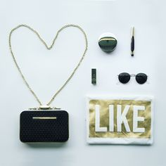 Go for gold! Wir mögen besonders die schwarz/ gold Kombinationen <3 Alle Pieces findet ihr bei uns im Shop.